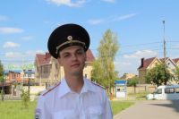 Старший сержант Антон Ратанов.