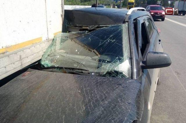 Водителю легковушки сильно повезло, поскольку подушки безопасности в «Хендае» не сработали.