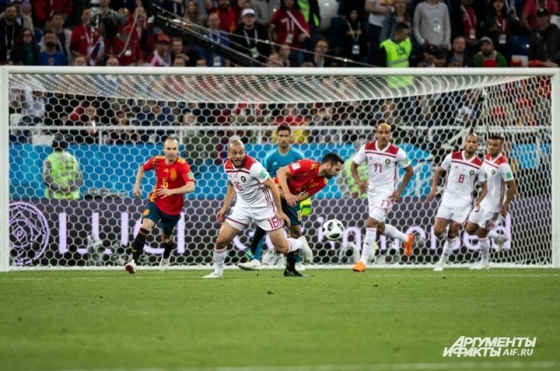 Журналисты после матча предположили, что испанцев преследовала «удача чемпионов».