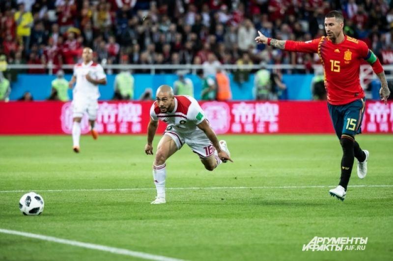 Капитан сборной Испании Серхио Рамос (справа): «Мы будем вносить корректировки, чтобы улучшить свою игру и показать максимум того, на что мы способны».