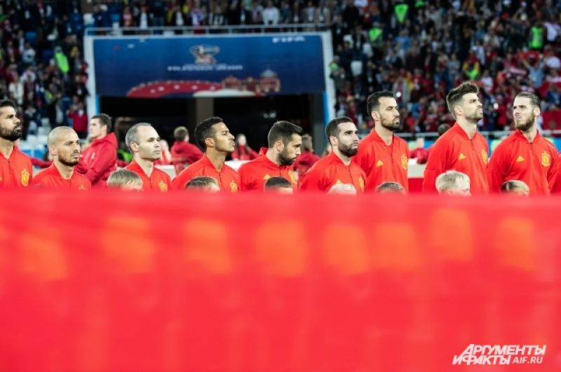 Сборная Испании - претендент на чемпионство.