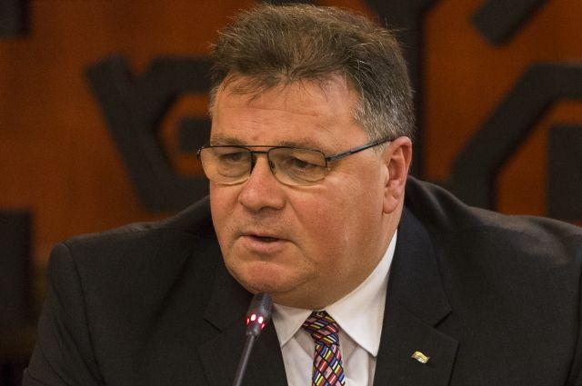 Руководитель МИД Литвы назвал Российскую Федерацию основным источником гибридных угроз дляЕС