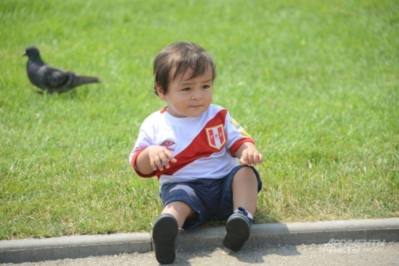 Этот малыш прилетел в Сочи с другого конца света.