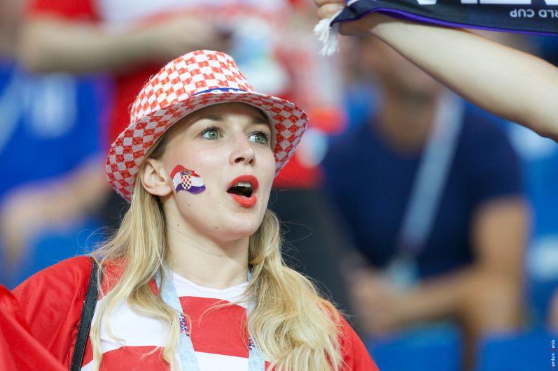 Хорваты открыли счёт.