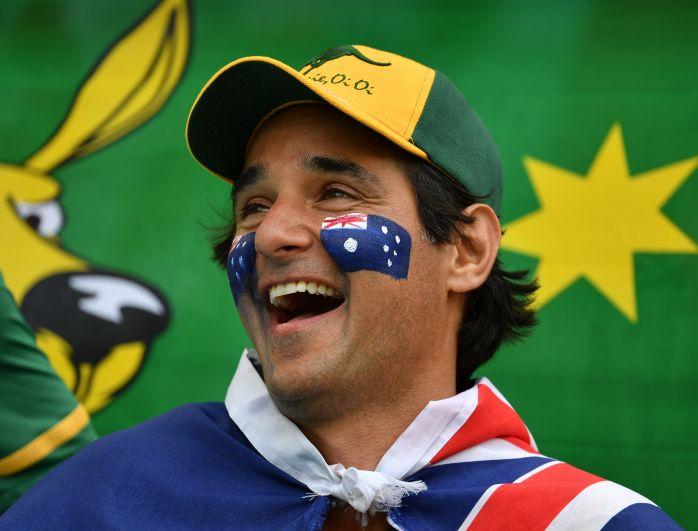 Австралийские болельщики до конца поддерживали свою сборную.