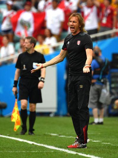 Тренер сборной Перу Рикардо Гарека возмущен.