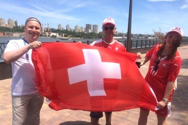 Тысяча швейцарских болельщиков пройдет маршем перед матчем ЧМ-2018 вНижнем Новгороде