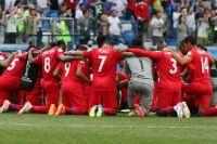 Игроки сборной Панамы.