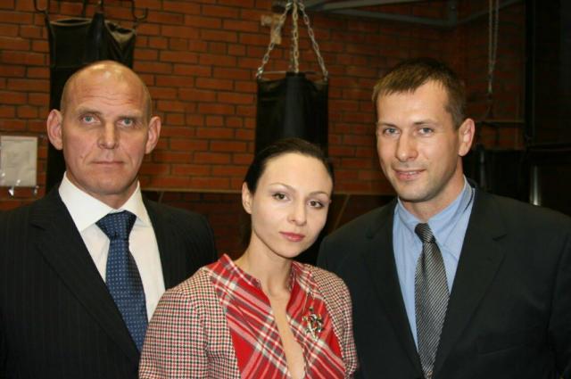 Александр Карелин и Алексей Тарабарин были соперниками на ковре, а в жизни - они друзья.