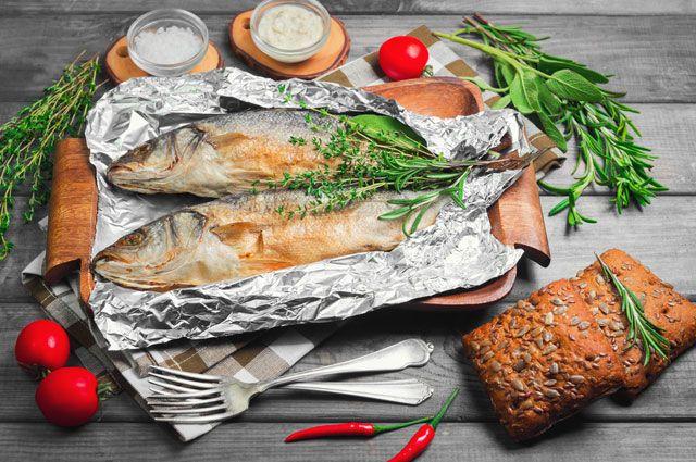 Рыба для запекания в маринаде