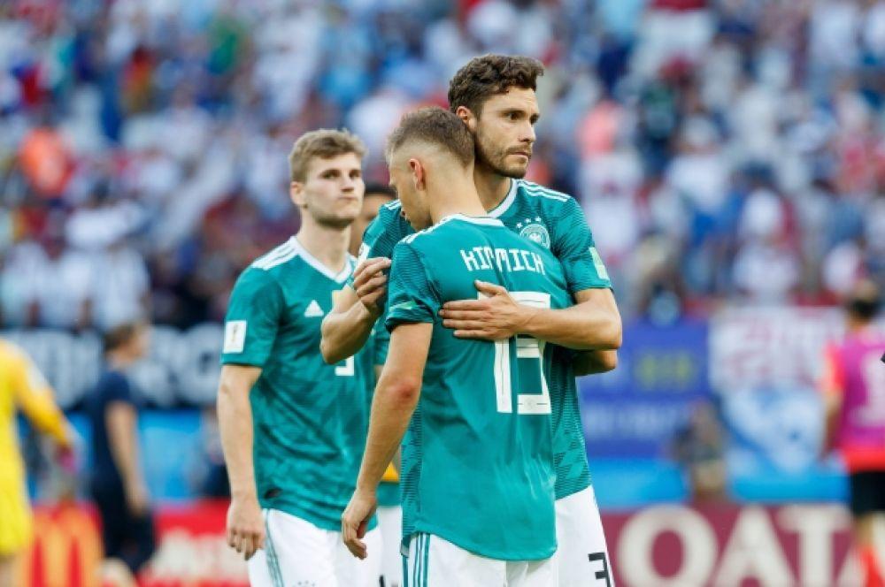 Немцы поддерживают друг друга.