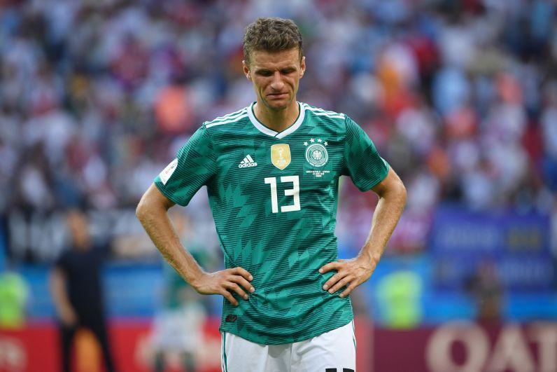 Томас Мюллер не смог сдержать слёз.