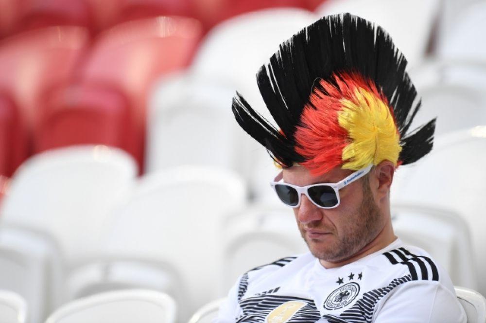 Было заметно, как расстроены немецкие болельщики.