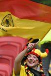 Немецкие болельщики были настроены на победу.