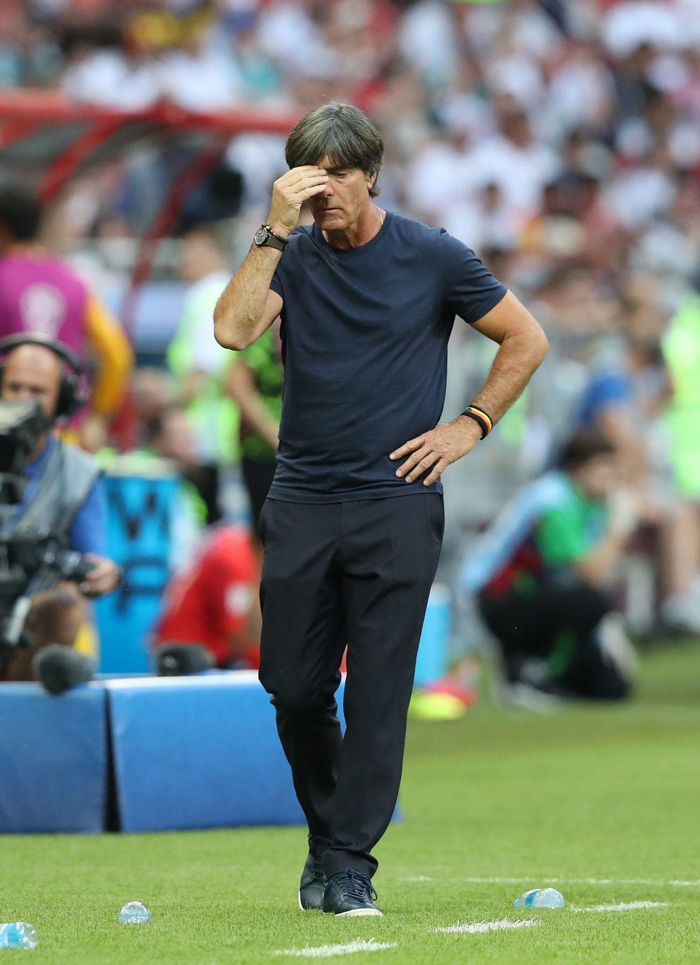Реакция главного тренера сборной Германии Йоахима Лева.