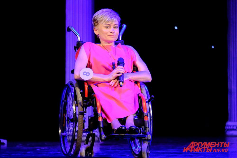 Юлия Ившина представила на конкурсе Удмуртию.