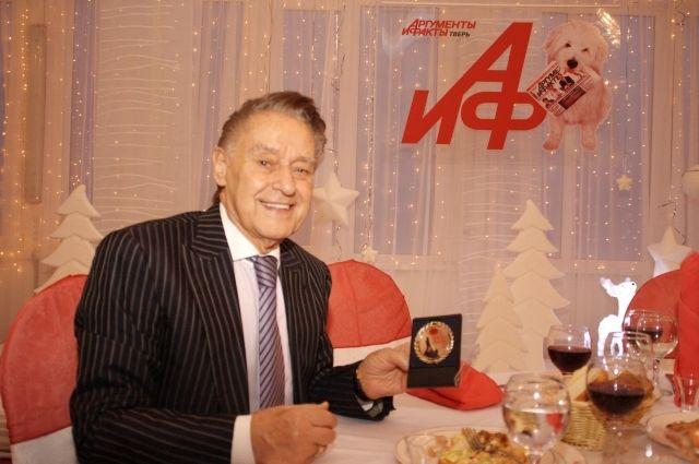 Андрей Дементьев на церемонии «Легенды Верхневолжья»