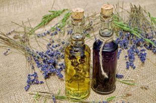 Эфирные масла эвкалипта, герани и лаванды добавляют в спрей от кровососов.