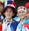 За японскую сборную болеют не только гости из Страны восходящего солнца, но и россияне.