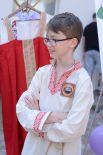 """10-летний Володя Николаенко уже полгода водит в музее экскурсии. Опытные экскурсоводы называют его """"наш младший научный сотрудник""""."""