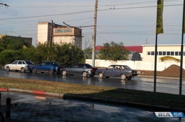 СМИ: в массовом ДТП на Донгузской никто не пострадал.