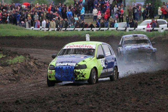 В Тюменской области прошел третий этап чемпионата по автомобильному кроссу