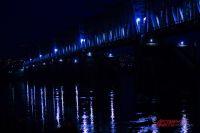 Ночью в  реку Обь упала девушка