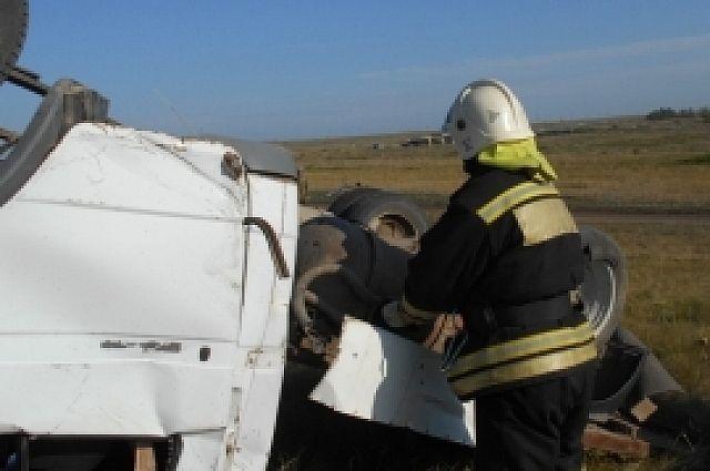 В Кваркенском районе в ДТП с «ГАЗелью» пострадали несколько человек.