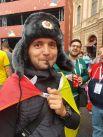 Русская шапка-ушанка пришлась по душе многим туристам.