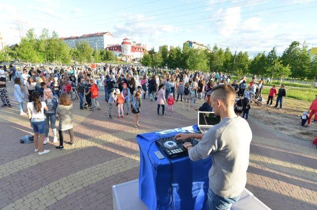 В Ноябрьске вновь стартуют летние дискотеки