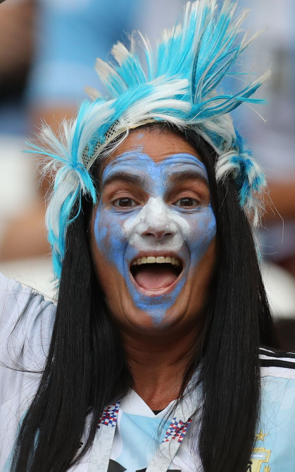 Ирокезы - еще одна популярная у болельщиков Аргентины тема.