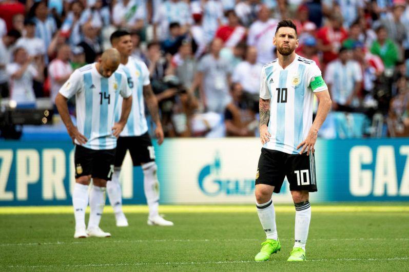 Вся Аргентина возлагала надежды на Месси в этом матче.