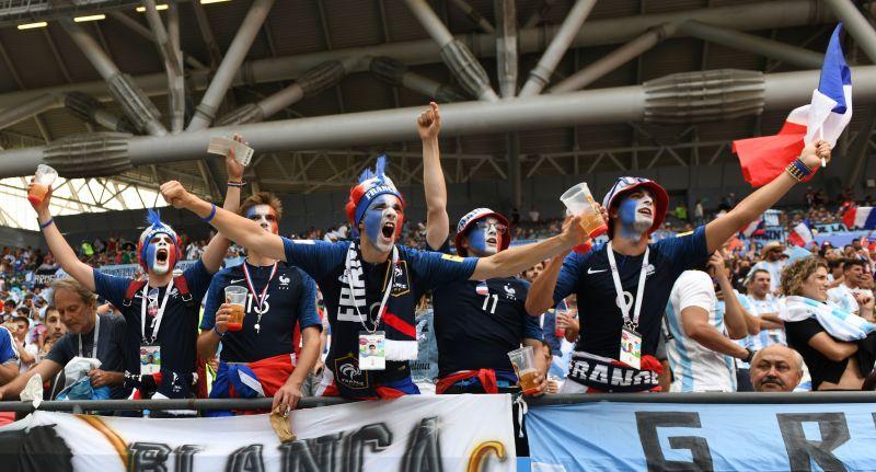 Яростные французы.
