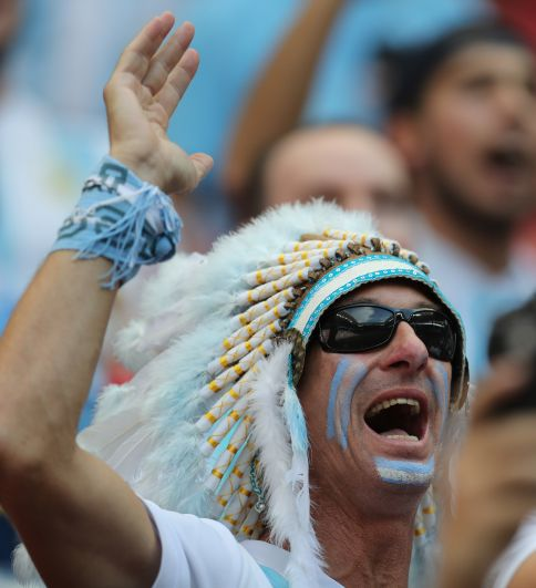 Аргентинский индеец.