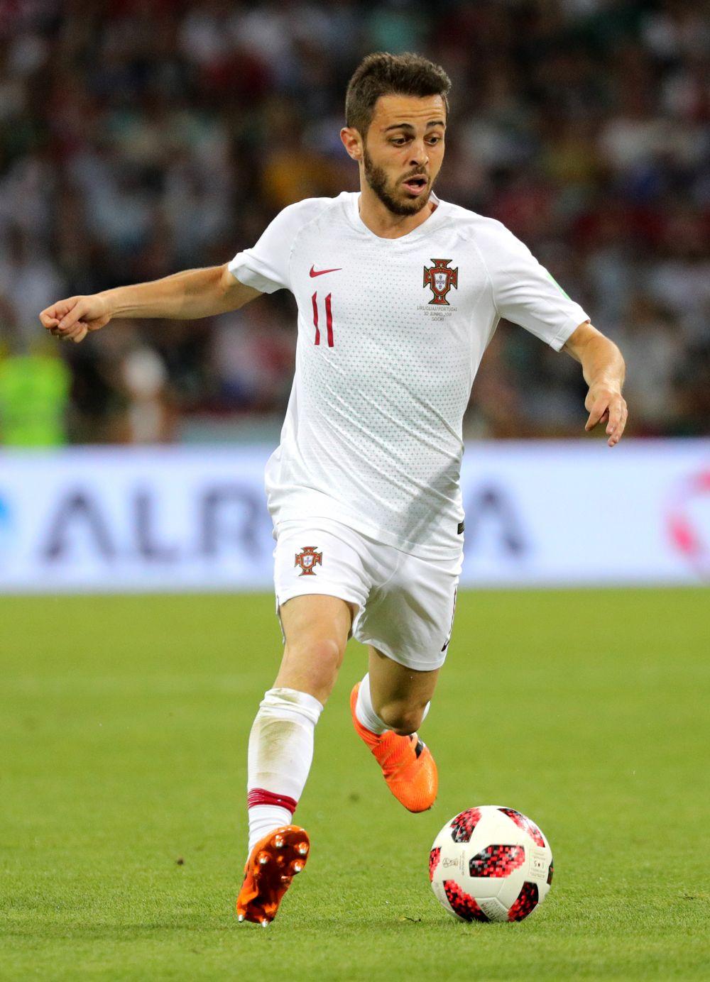 Игрок сборной Португалии Бернарду Силва.