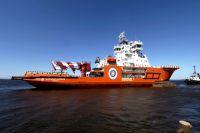 Ледокол «Александр Санников» вошел в состав арктического флота