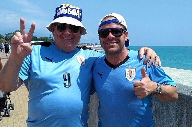 Уругвайцы Карлос и Пабло Салмано.