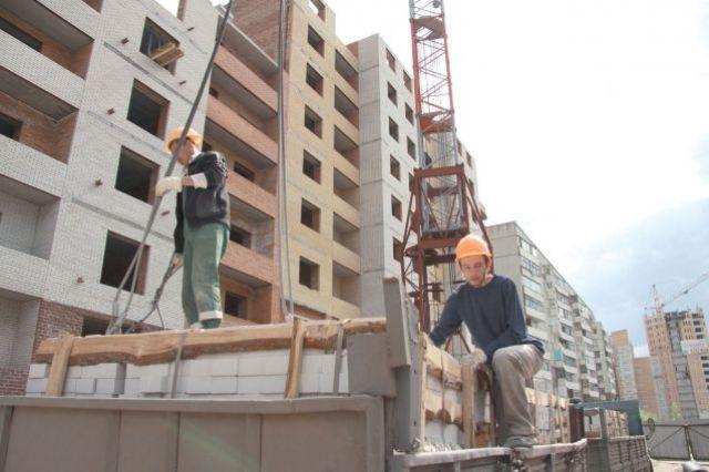 146 многоэтажек в области строится по договорам долевого строительства.