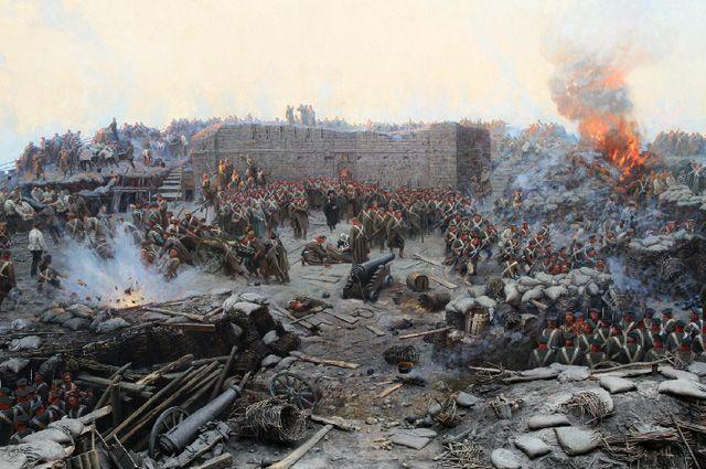 Оборона Севастополя. Франц Рубо.