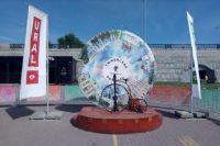 Из Тюмени в Екатеринбург доставили старинный велосипед