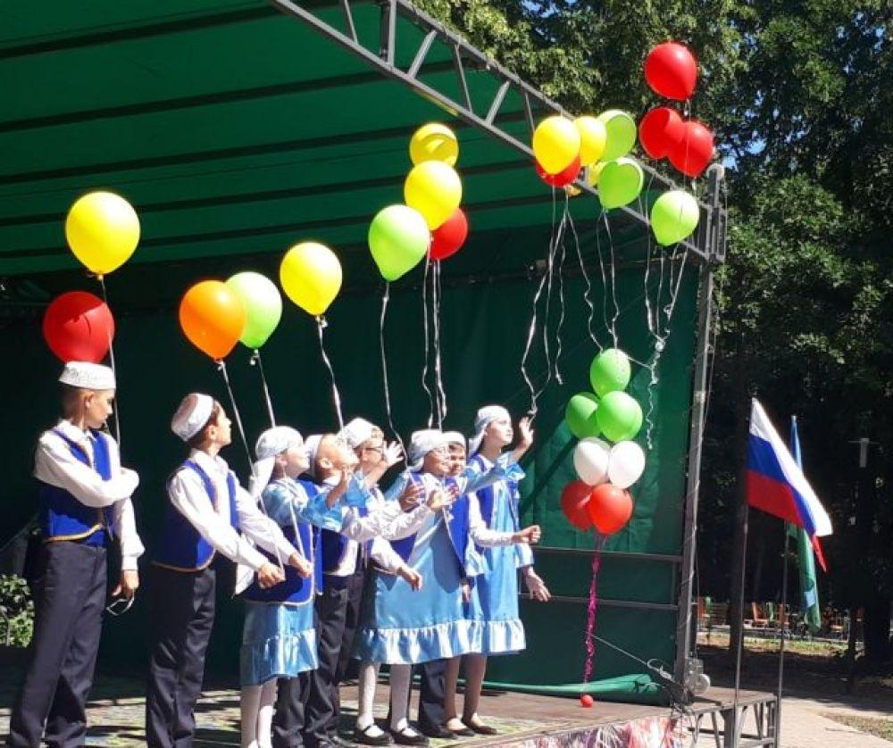 «Юбилейный татарский национальный праздник «Сабантуй» объявляется открытым!»