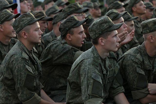 Оренбургские призывники первыми начнут служить в инновационных ротах.