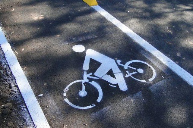 В Новом Уренгое сбили велосипедиста