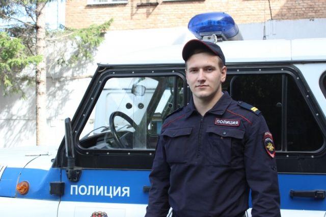 Руководством полиции принято решение о поощрении отважного полицейского