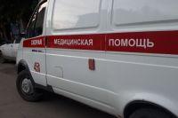 Водителя и двух пассажиров увезла скорая помощь.