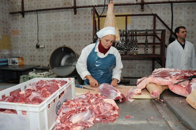 При переработке мяса учитывается каждый килограмм.