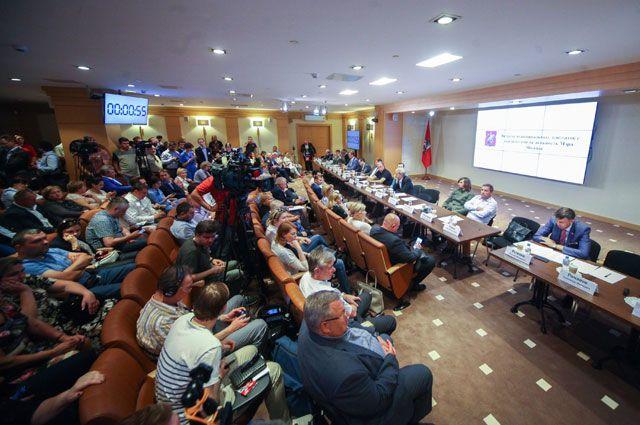 Очередная встреча кандидатов на пост мэра и муниципальных депутатов прошла 26 июня.