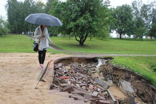 В парке 1100-летия с разрухой приходится сталкиваться постоянно.