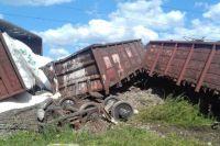 В Одесской области поезд сошел с рельсов: заблокировано движение