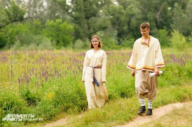 В Оренбурге День семьи, любви и верности отметят в старорусском стиле.